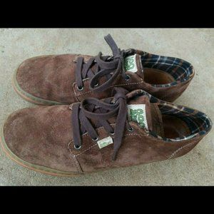 Eco Simple Sneaks S Ecco Brown Suede Lace Up Shoes